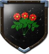 Rose Desert's shield